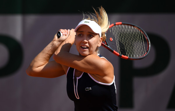 Elena Vesnina in action at the French Open last year | Photo: Dennis Grombkowski/Getty Images Europe