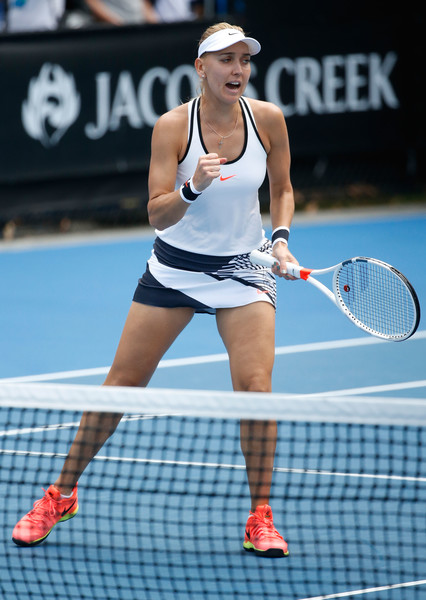 Elena Vesnina would be happy with her performance today | Photo: Darrian Traynor/Getty Images AsiaPac