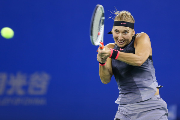 Elena Vesnina in action | Photo: Yifan Ding/Getty Images AsiaPac