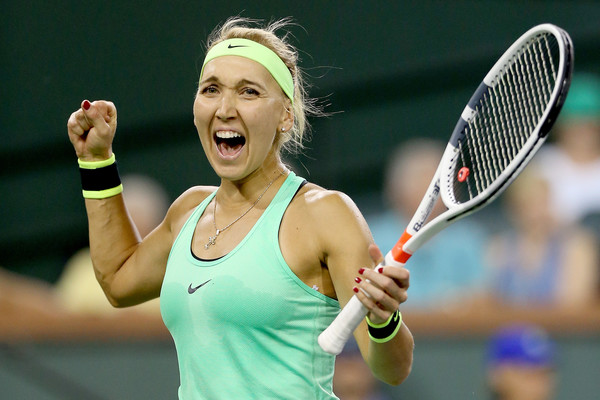 Elena Vesnina would be glad with her win | Photo: Matthew Stockman/Getty Images North America