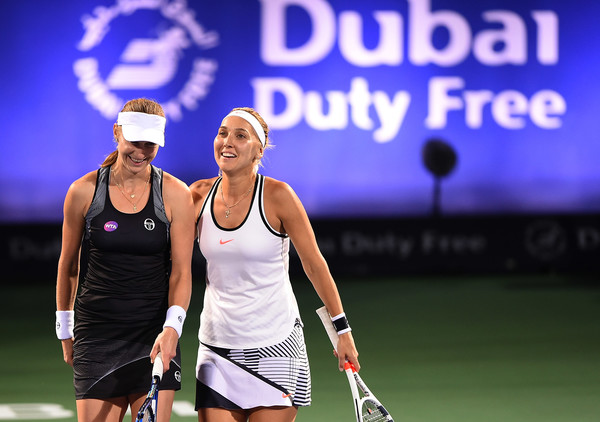 Double trouble: Vesnina is ranked in the top-20 of both singles and doubles | Photo: Tom Dulat/Getty Images Europe