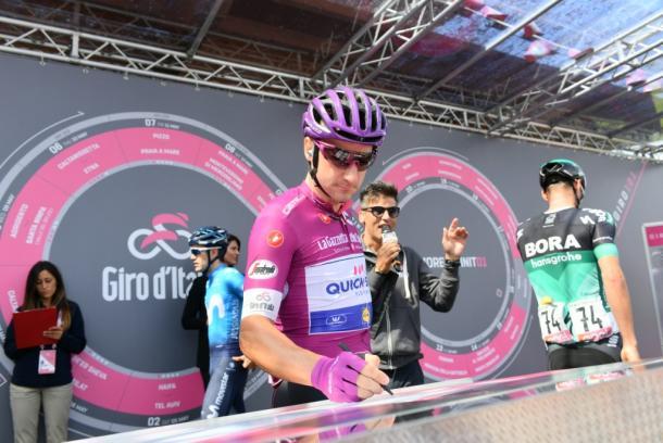 Elia Viviani lleva dos victorias en este Giro   Foto: Giro de Italia