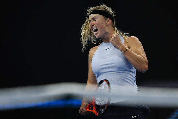 Elina Svitolina's fight was evident throughout the match, although she did not triumph eventually | Photo: Lintao Zhang/Getty Images AsiaPac