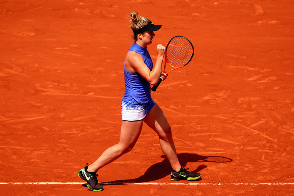 Elina Svitolina would rue her missed opportunities, but overall, it was a good run for her   Photo: Clive Brunskill/Getty Images Europe