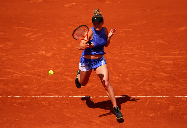 Elina Svitolina was simply firing on all cylinders, leading 6-3, 5-1 at one point in time   Photo: Clive Brunskill/Getty Images Europe