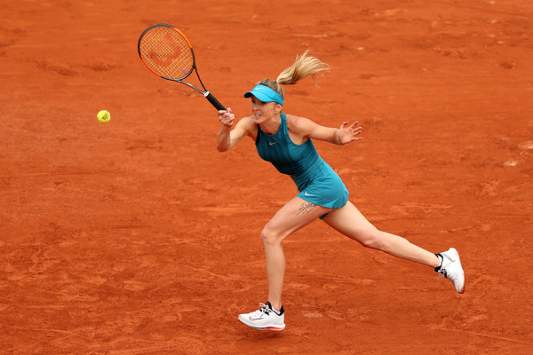 It was a good, solid performance from Elina Svitolina | Photo: Matthew Stockman/Getty Images Europe