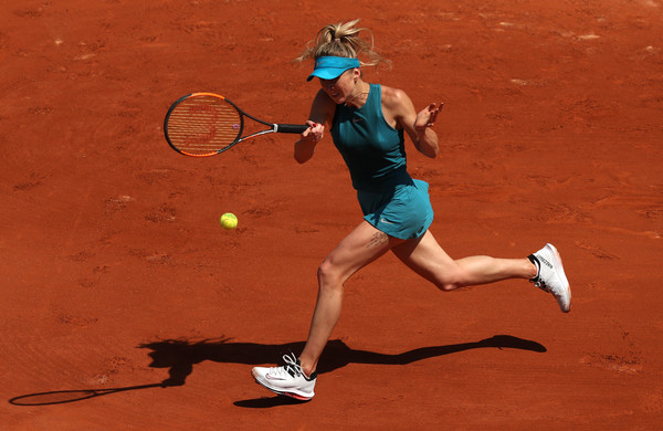 Elina Svitolina will now face the hard-hitting Kuzmova in the second round | Photo: Matthew Stockman/Getty Images Europe