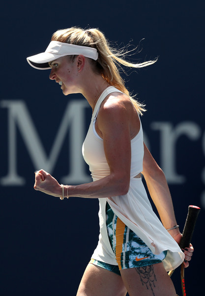 Elina Svitolina will be extremely proud of her performance today   Photo: Matthew Stockman/Getty Images North America