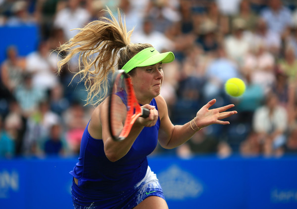 Elina Svitolina in action at the Aegon Classic | Photo: Ben Hoskins/Getty Images Europe