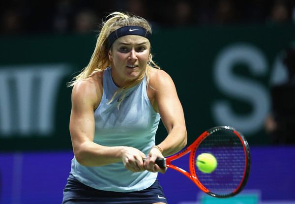 Elina Svitolina grabs her first win at the WTA Finals this year | Photo: Clive Brunskill/Getty Images AsiaPac
