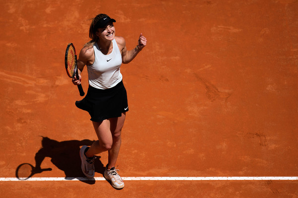 Elina Svitolina triumphed in Rome a week ago, labeling herself as one of the favourites here | Photo: Dean Mouhtaropoulos/Getty Images Europe