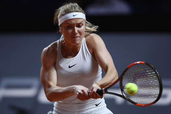 Elina Svitolina comes into the match as the favourite | Photo: Alex Grimm/Getty Images Europe