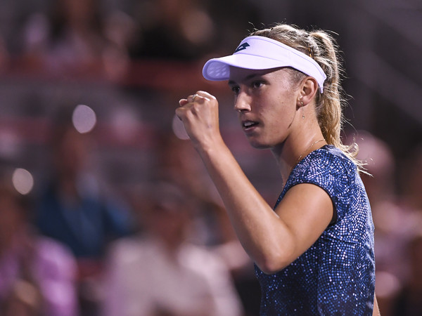Since joining forces with Kindlmann a month ago, Mertens has already seen the results for herself, having made the semifinals in San Jose and the quarterfinals last week in Montréal. | Photo: Getty Images