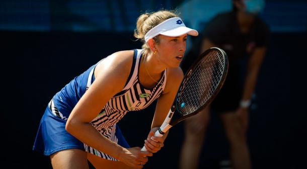 Mertens defeated Giorgi for the second time in as many meetings/Photo: Jimmie48 photography