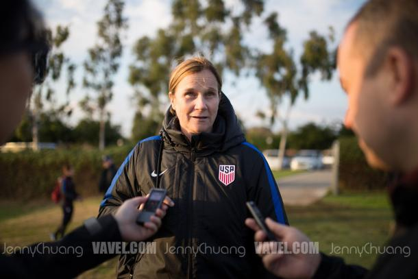 Has Jill Ellis lost her team? | Source: Jenny Chuang - VAVEL USA