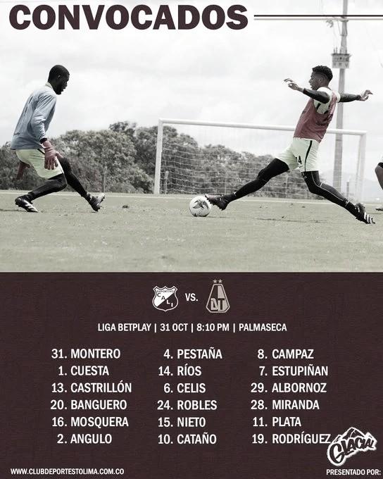 Foto: clubdeportestolima.com.co