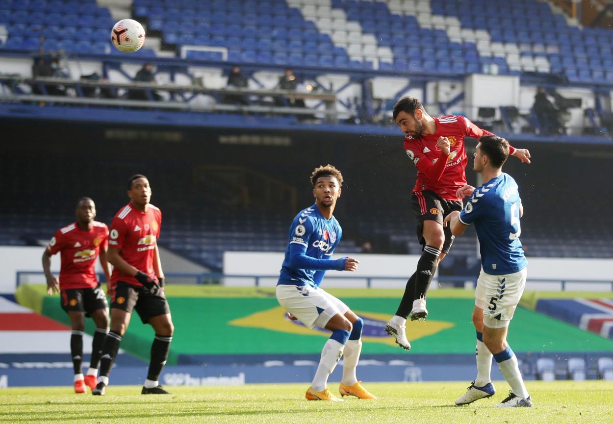 Momento del 1-1 / FOTO: Premier League