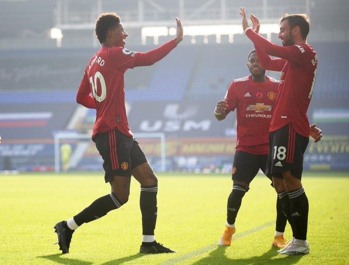 El United celebrando el 1-2 / FOTO: Premier League