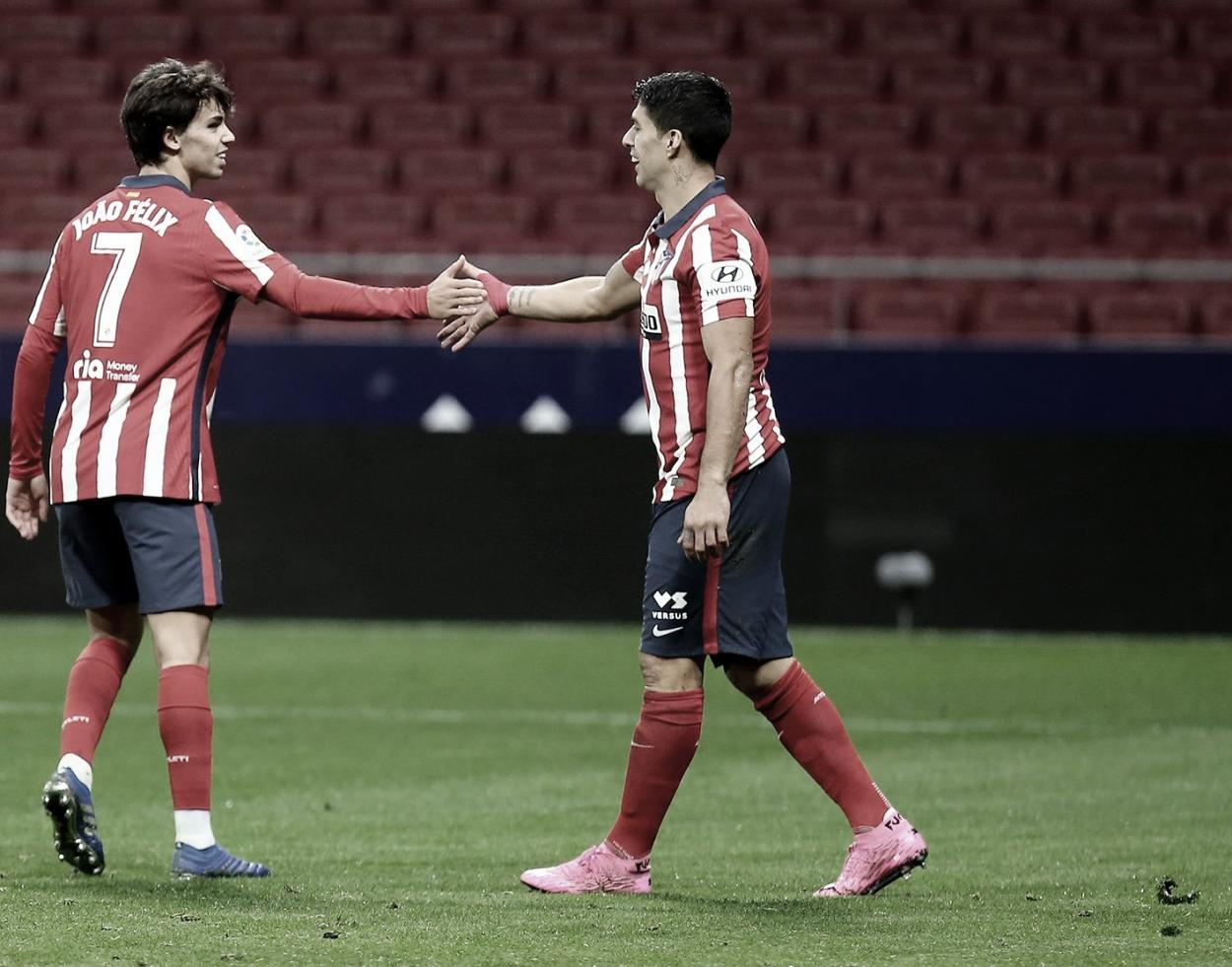 Joao Félix y Luis Suárez, ambos en lo alto de la tabla goleadora. / Twitter: Atlético de Madrid oficial