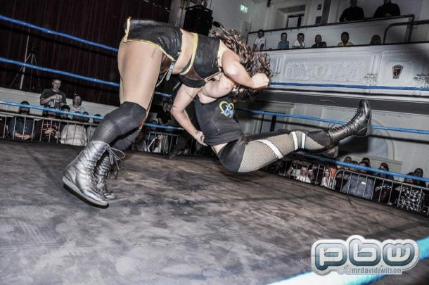 Hayden in action for PBW. Photo-PBW