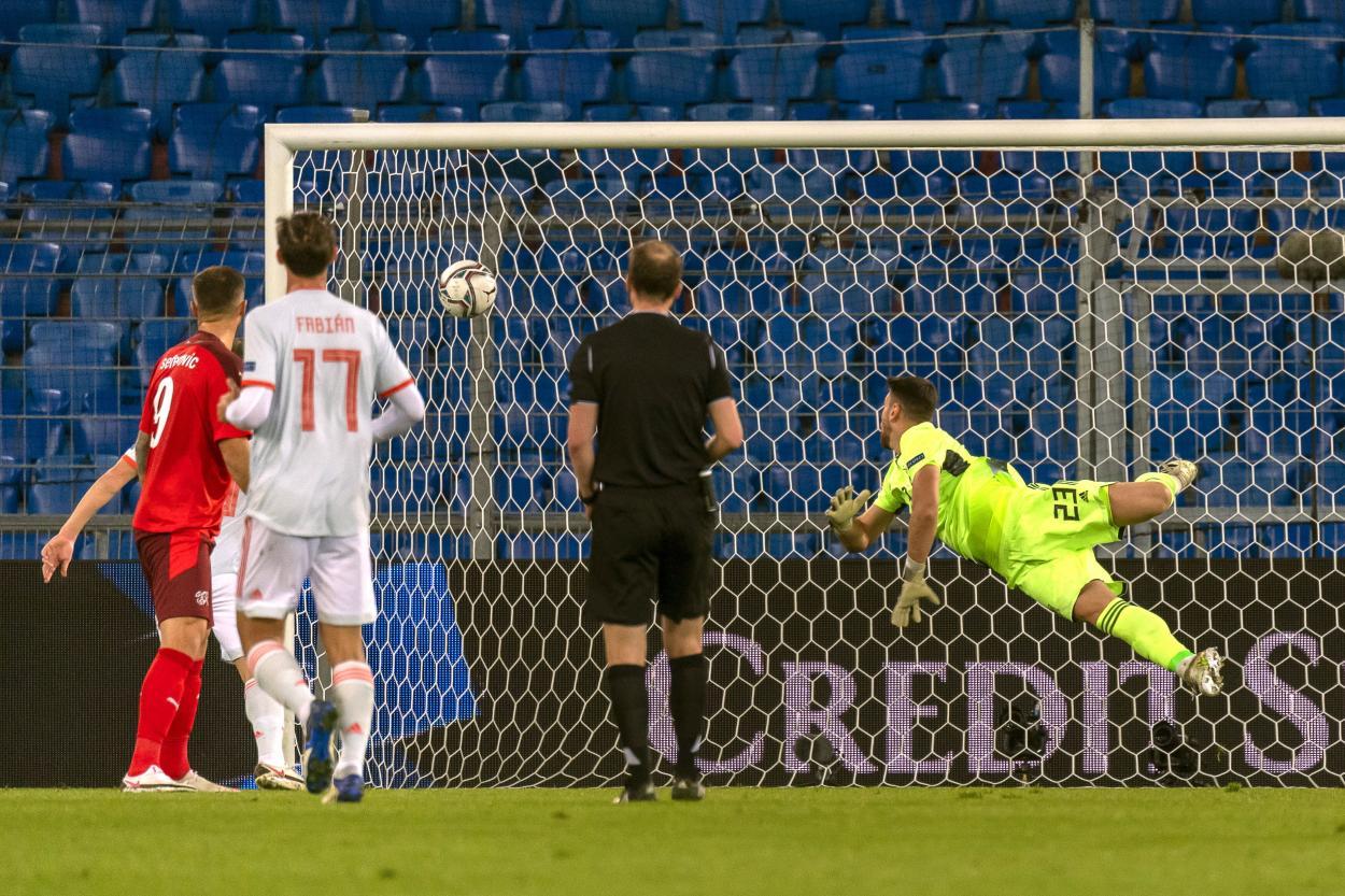 El gol de Suiza / FOTO: AFP