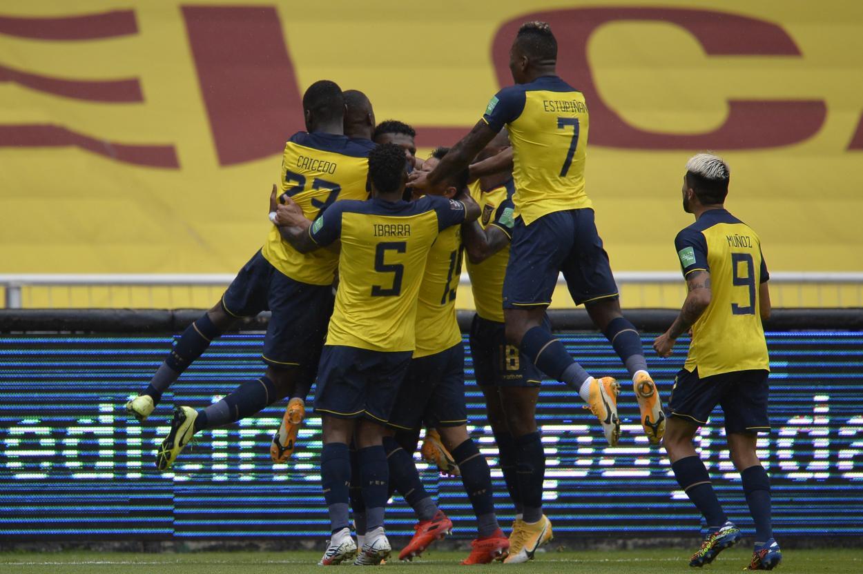 Ecuador triunfó en los dos juegos de la ventana de noviembre. Foto: CONMEBOL.