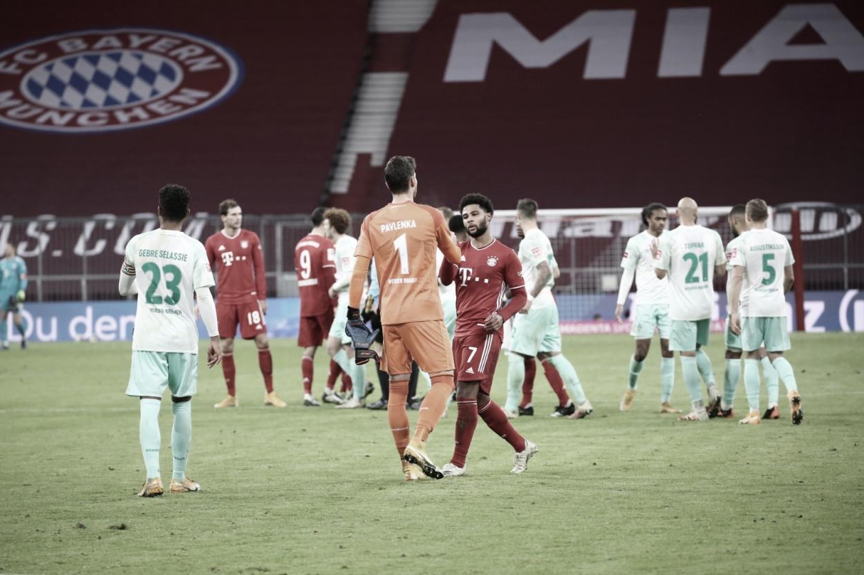 Final de un encuentro muy disputado por ambos equipos. / Twitter: FC Bayern Munich