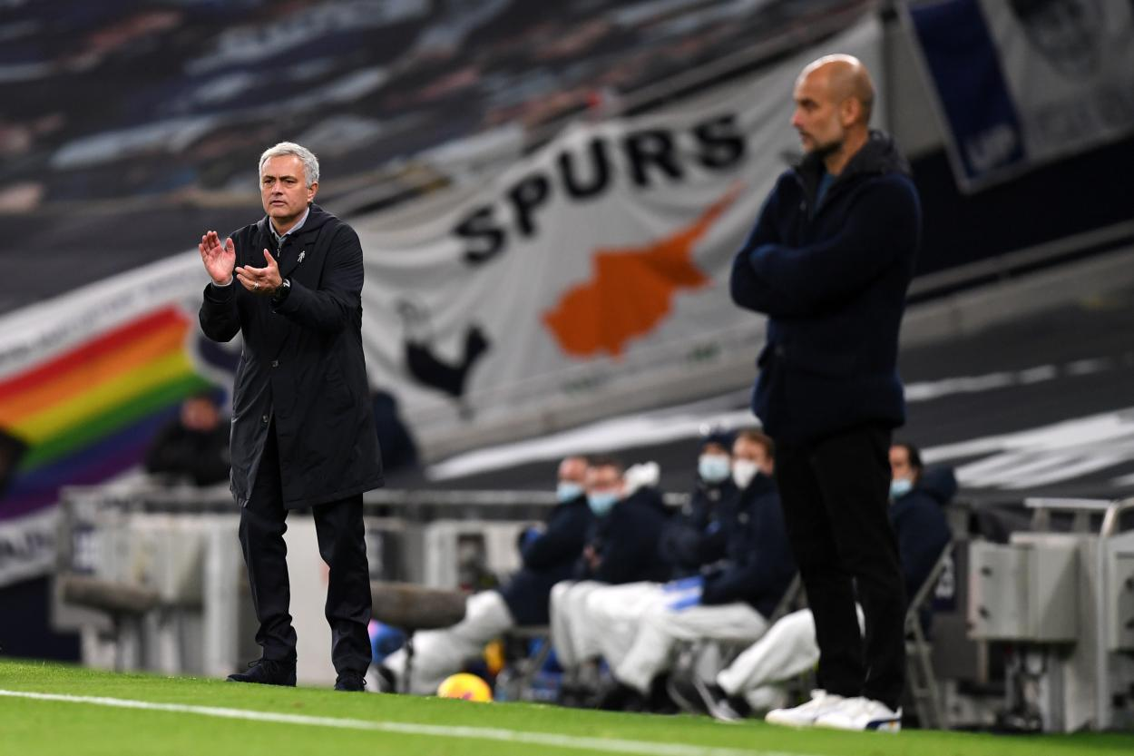 Mourinho vence a Guardiola / FOTO: Premier League