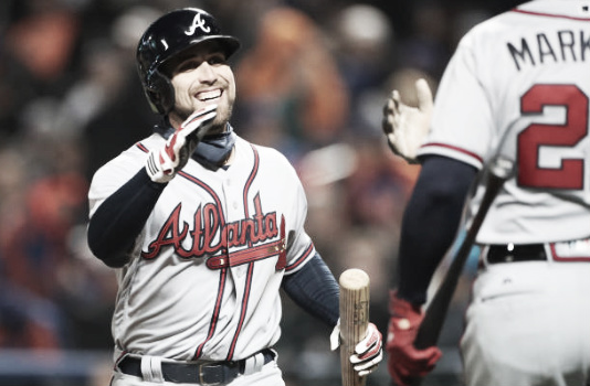 The Braves turnaround since returning back to Atlanta has been in large part to a hot offensive streak from outfielder Ender Inciarte. (Photo courtesy of Tim Clayton-Corbis via Getty Images)