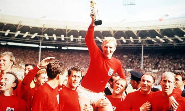 Inglaterra Campeón del Mundo en 1966, en el estadio de Wembley