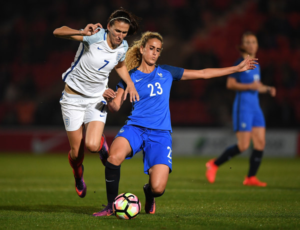 Jill Scott will look to impose herself in midfield | Source: Laurence Griffiths/Getty Images Europe