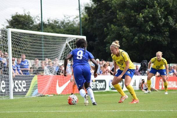 Eni Aluko has been in brilliant goal scoring form this season | Photo: VAVEL's Chloe Leadbeater