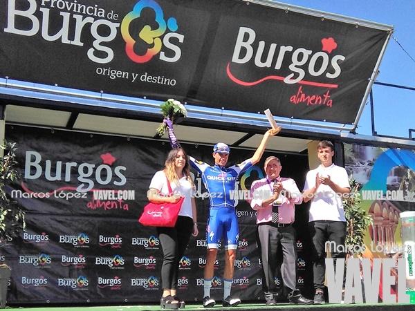 Enric Más, premio a la combatividad de la última etapa. | Foto: VAVEL
