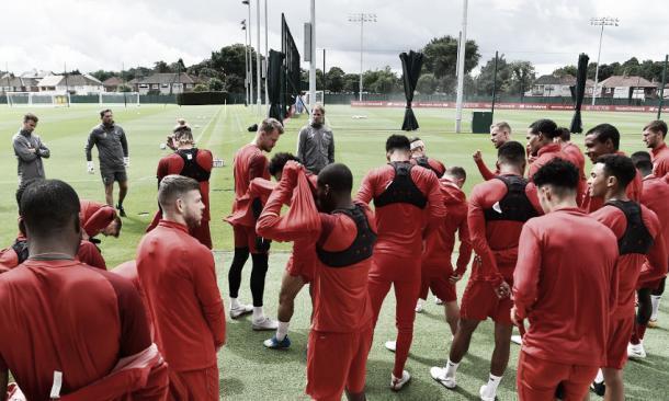 Entrenamiento previo al encuentro vs West Ham | Liverpool FC