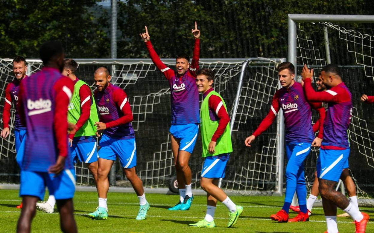 FC Barcelona training // Source: FC Barcelona