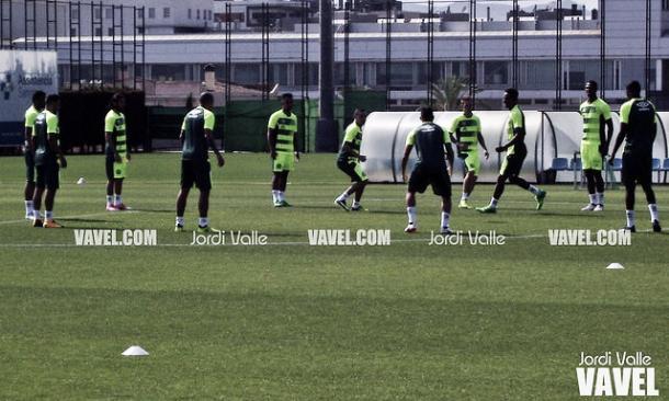 Entrenamiento del Chapecoense en la Ciutat Esportiva Joan Gamper | Foto: Jordi Valle - VAVEL