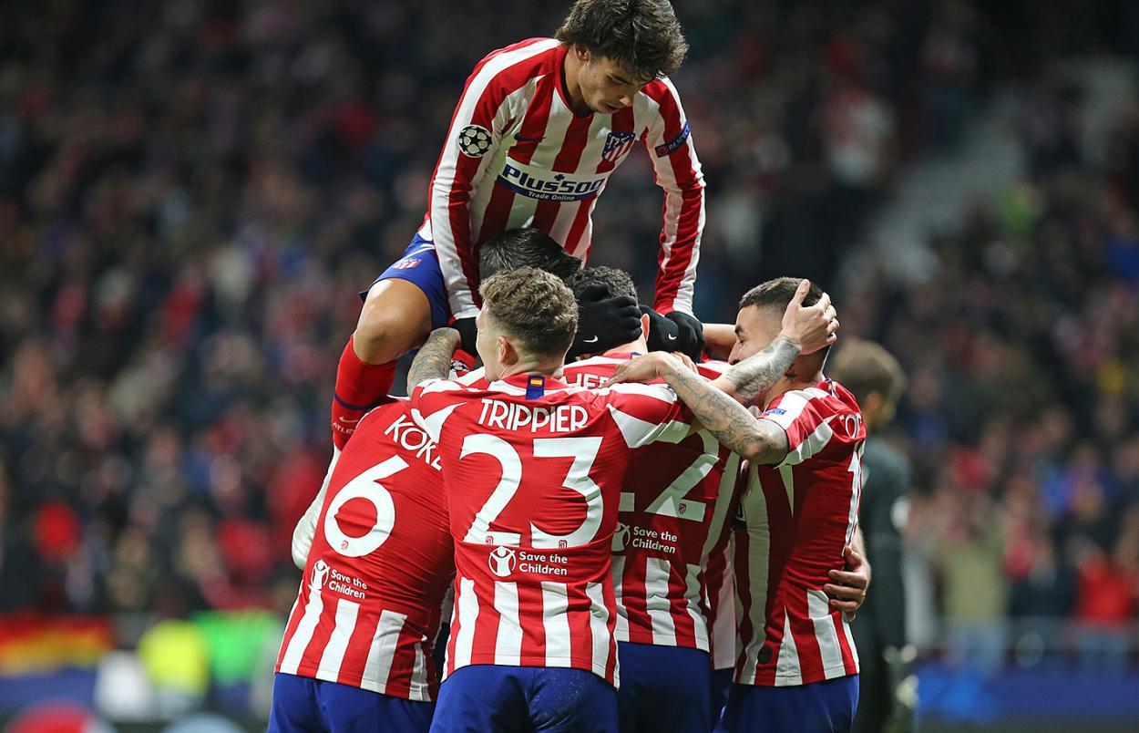 Última victoria del equipo colchonero. / Twitter: Atlético de Madrid oficial