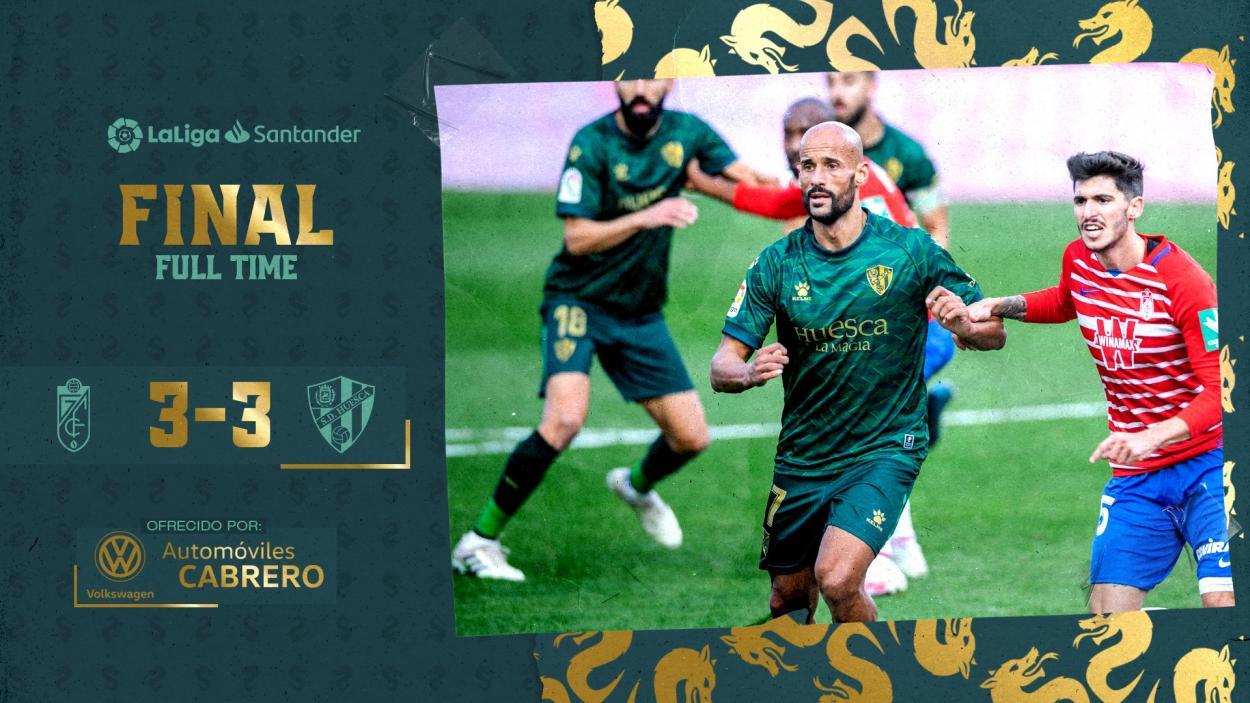 Resultado final / Twitter: SD Huesca