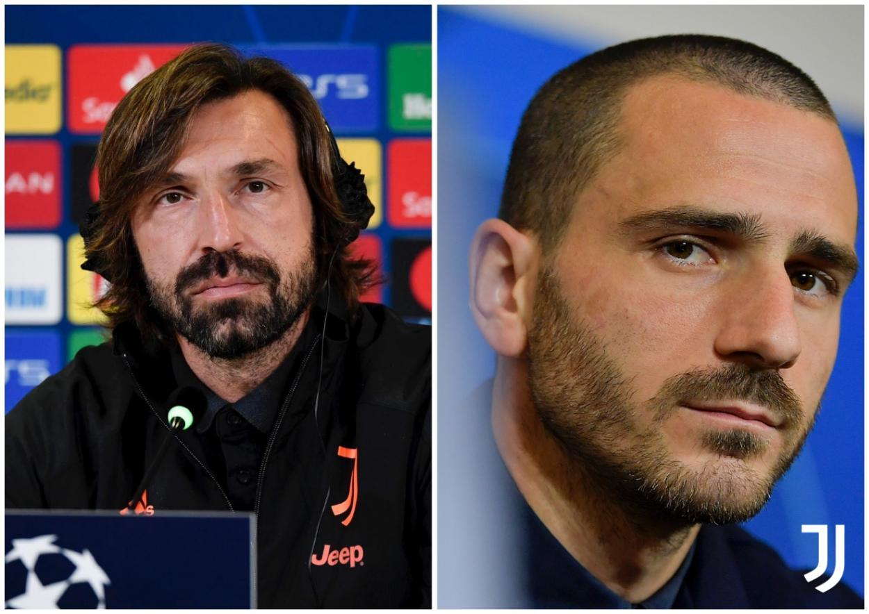 Pirlo y Bonucci / FOTO: Juventus