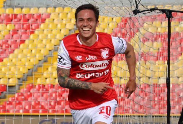 Se espera ver una nueva imagen como esta el próximo domingo en El Campín: Imagen: Independiente Santa Fe.