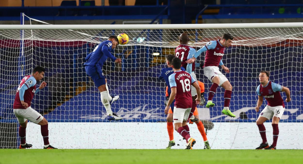 El gol de Thiago Silva / FOTO: ChelseaFC
