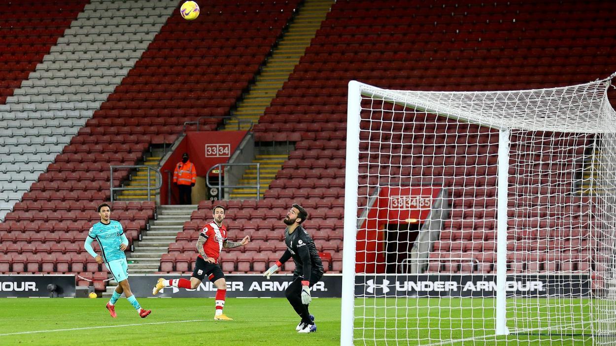 El gol de Ings / FOTO: Southampton FC