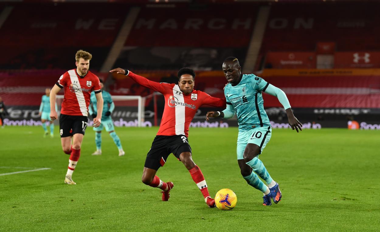 Mané fue el más activo del Liverpool / FOTO: Liverpool