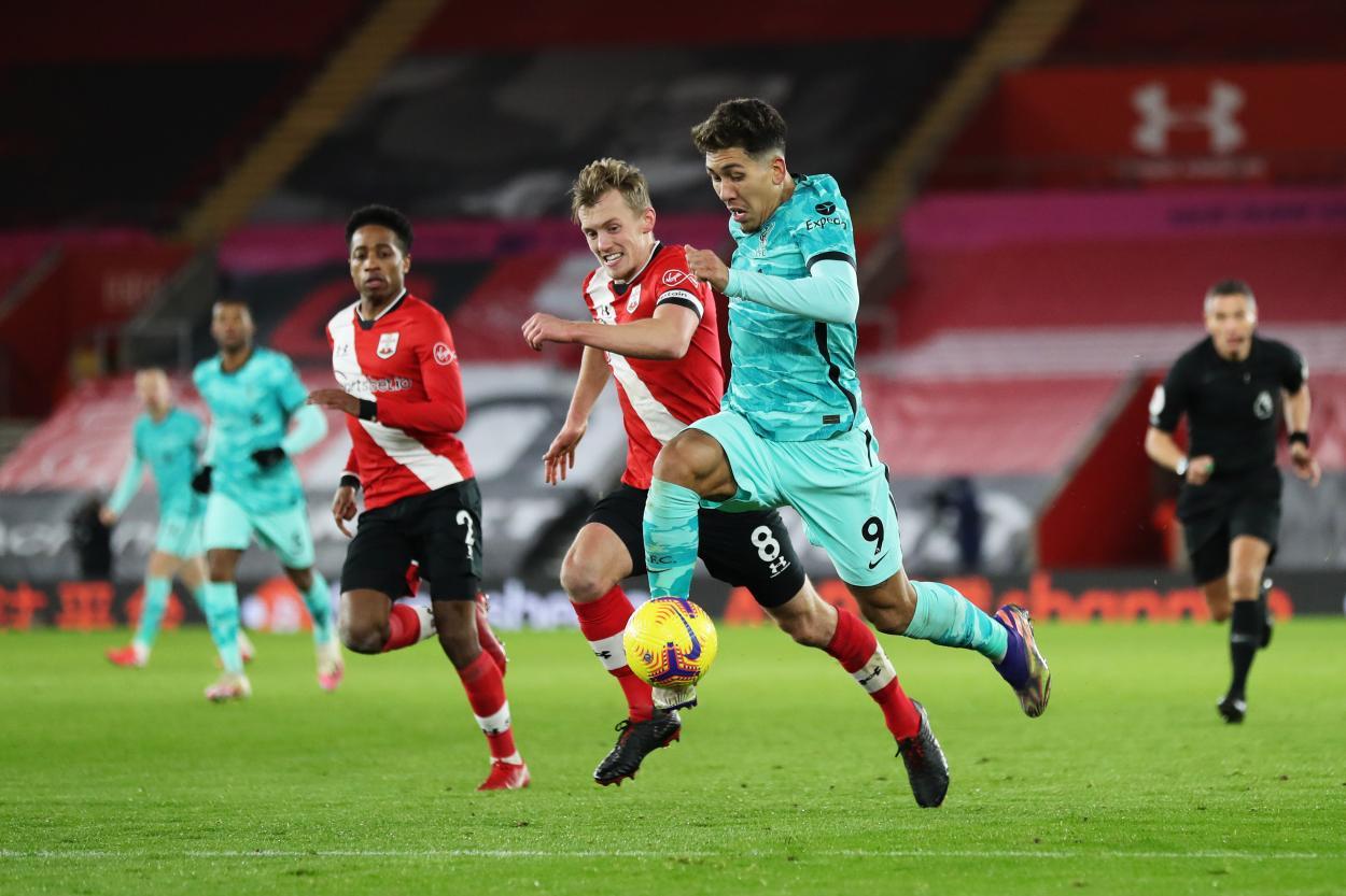 Discreto partido de Firmino / FOTO: Liverpool