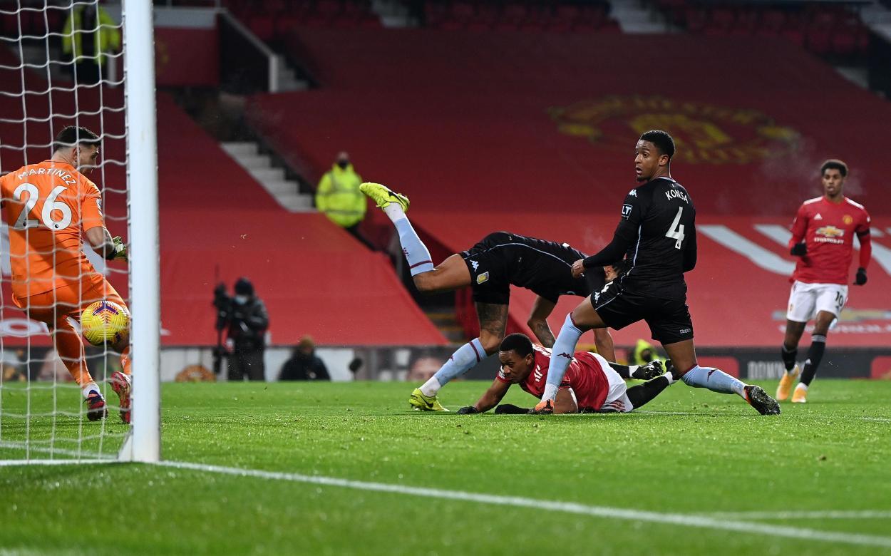 El momento del 1-0 / FOTO: Premier League