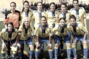 Alineación de la UD Las Palmas femenino // UD Las Palmas