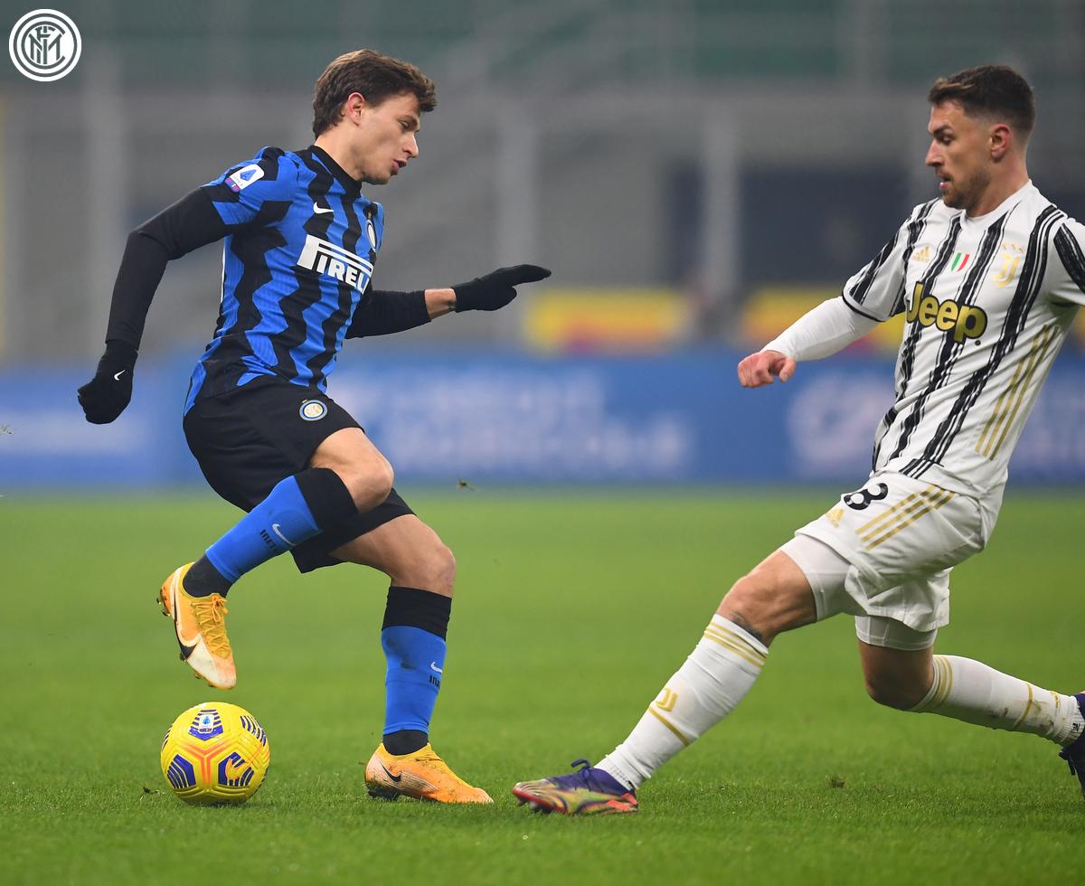 Barella brilló en el Derbi / Foto: Inter
