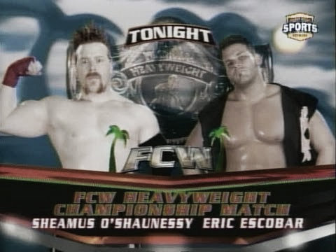 Escobar was a big name during his time in FCW (image: youtube.com)