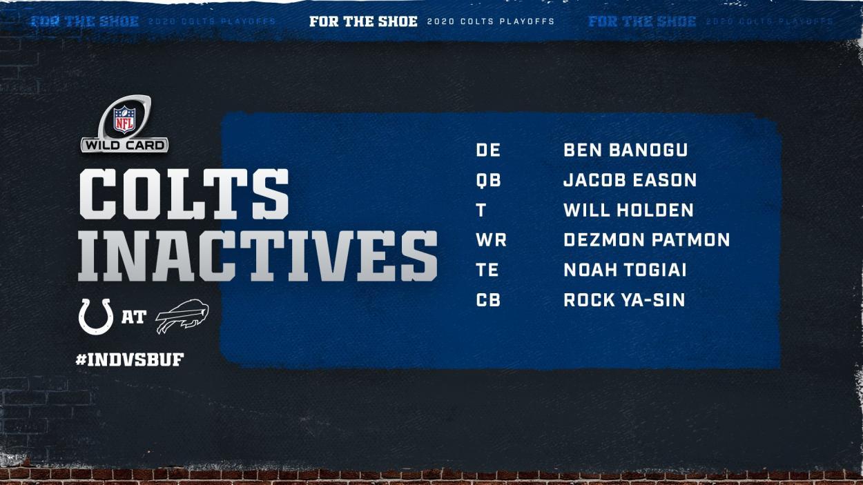 Fuente: Indianapolis Colts