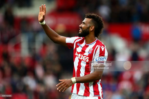 Eric Maxim Choupo-Moting during the win over Arsenal. Source | Getty Images.